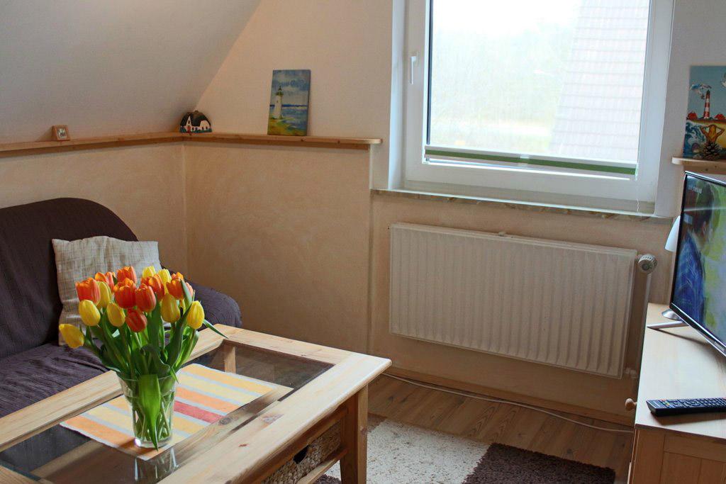 St. Peter-Ording Ferienwohnung Ufer 1: Wohnraumfoto
