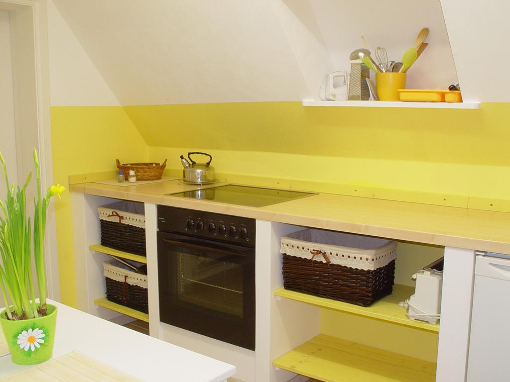 St. Peter-Ording Ferienwohnung Ufer 1: Küche