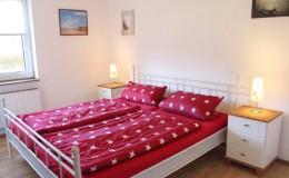 St. Peter-Ording Ferienwohnung privat Ufer Vorschaufoto Schlafzimmer