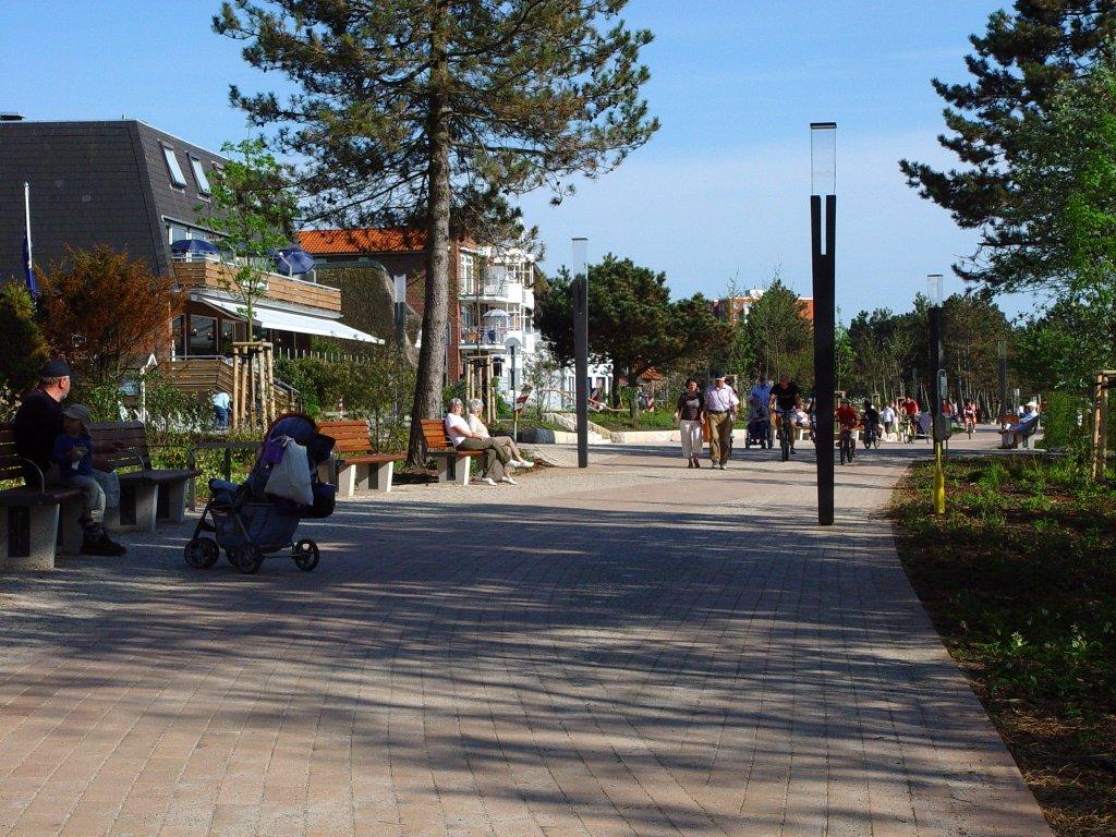 St. Peter-Ording Ferienwohnung Hund: Promenade