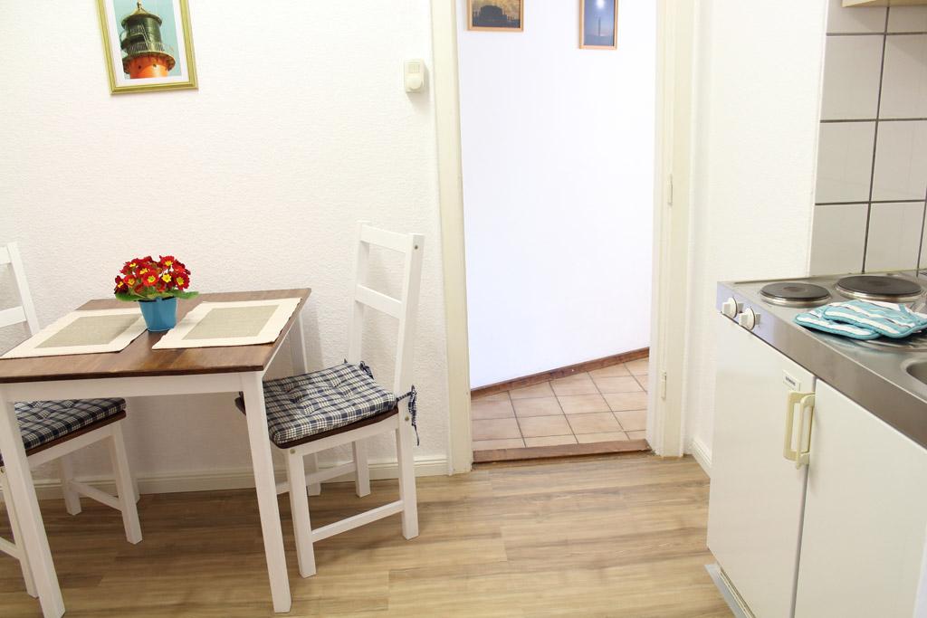 St. Peter-Ording Ferienwohnung privat Ufer: Küche